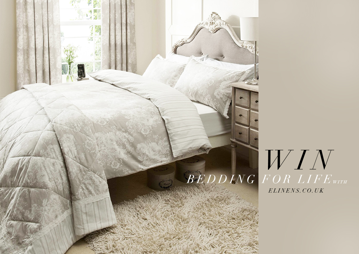 Win free bedding for LIFE