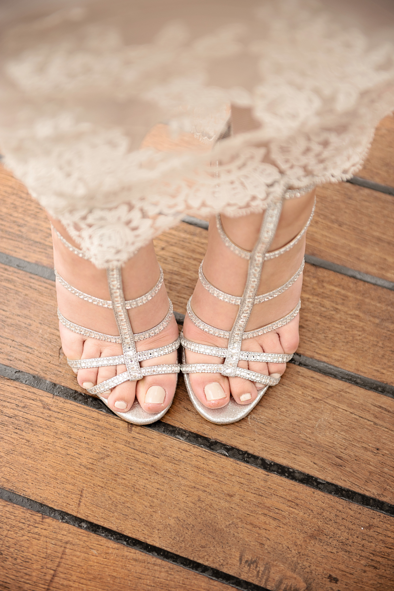 Gorgeous bride shoes