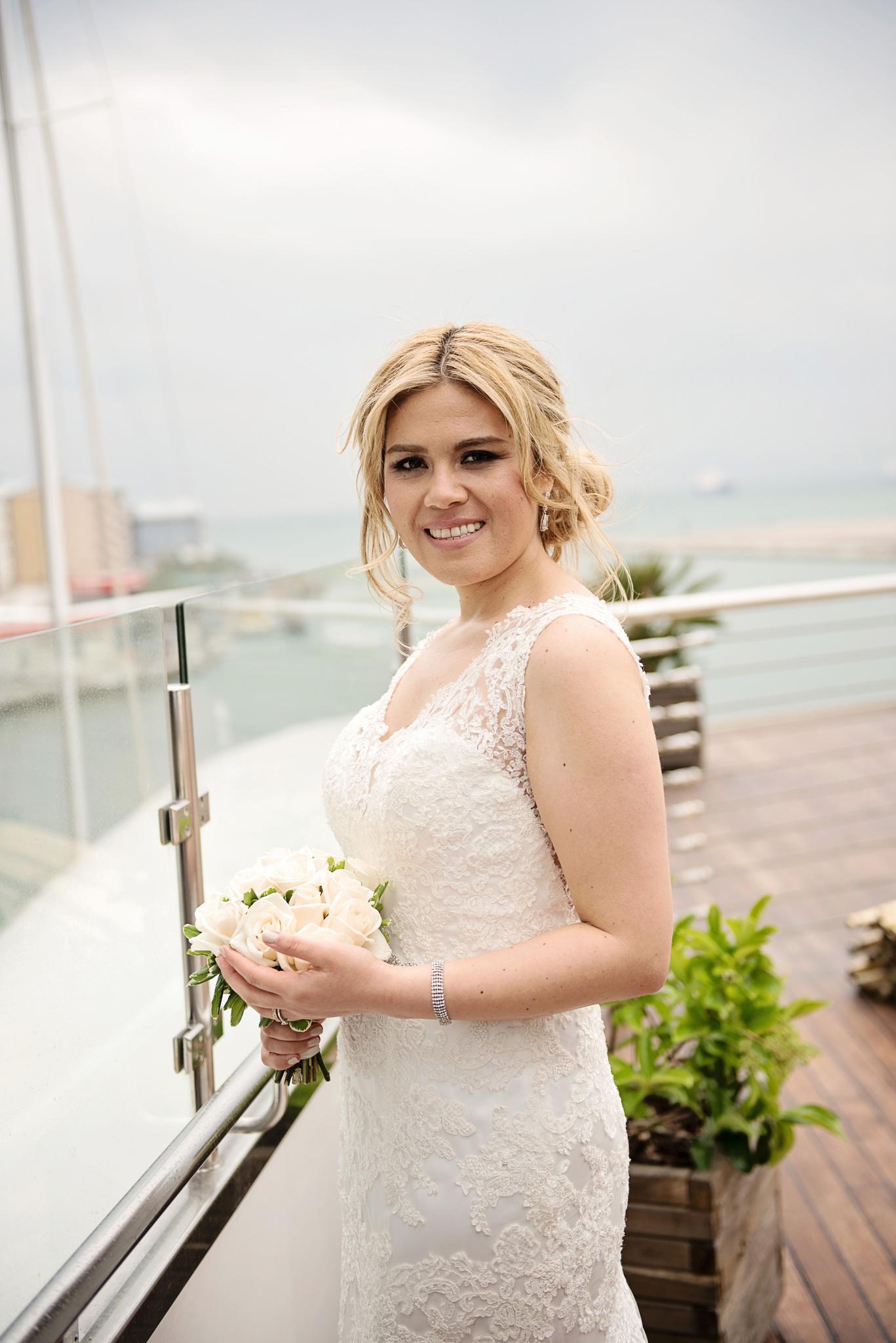 Wedding on a yacht