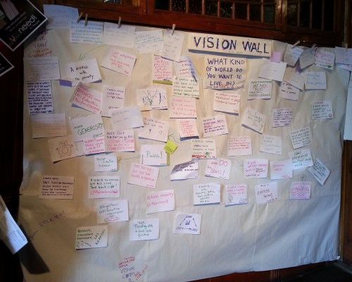 Brainstorming au OuiShare Fest 2013 - Carole Leclerc - CC BY-NC-SA 3.0 FR