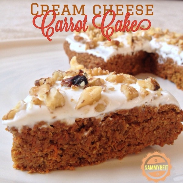 Cream Cheese Carrot Cake | http://withpeanutbutterontop.com