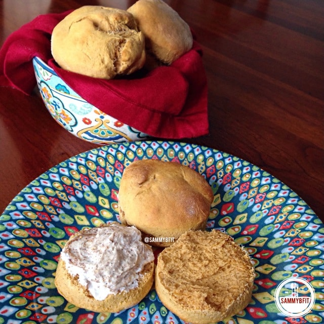 Sweet Potato Biscuits | www.withpeanutbutterontop.com