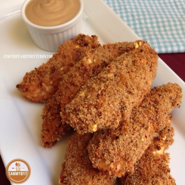 Baked Spicy Chicken Fingers