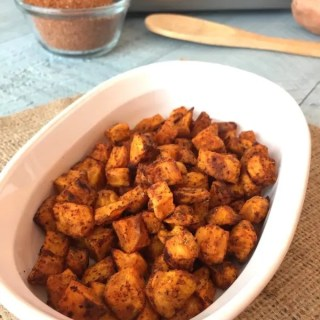 Easy Roasted Sweet Potato Bites