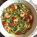Shrimp Scampi with Zoodles | www.withpeanutbutterontop.com