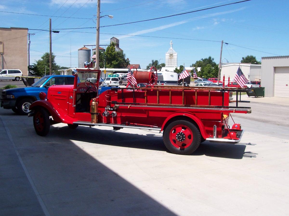 Restoration 1936 Chevrolet Firetruck 001