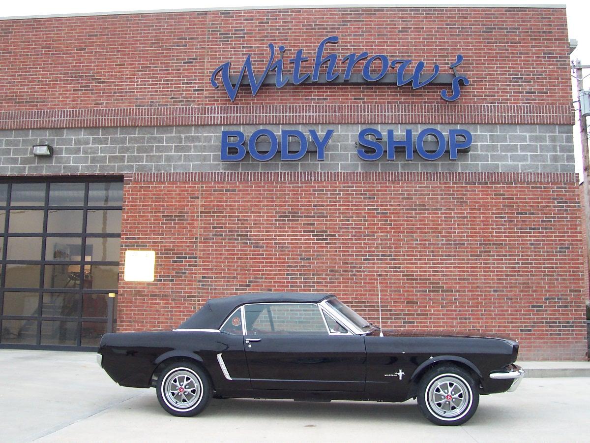 Restoration 1965 Mustang 2