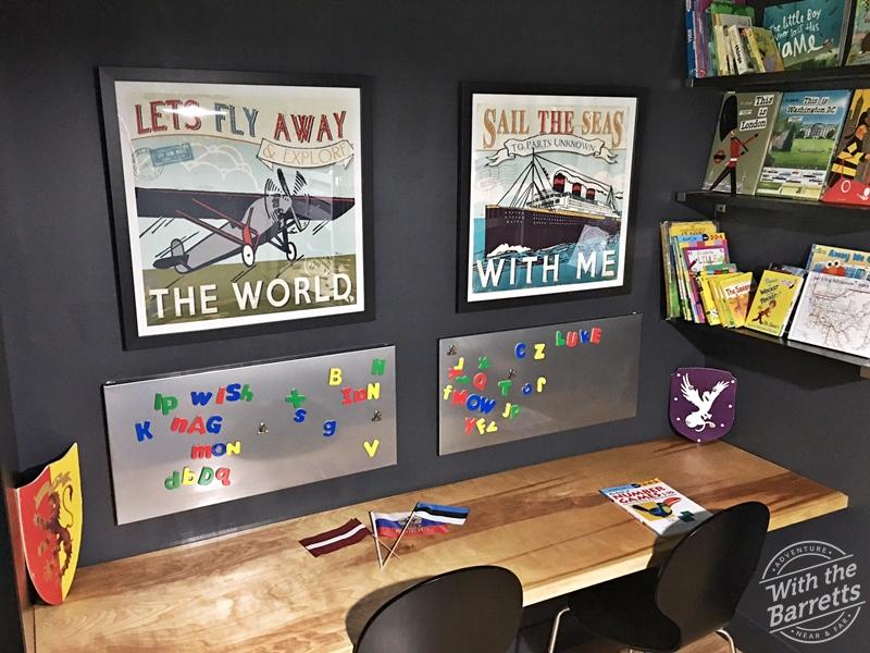 Grandboys' Desk Wall