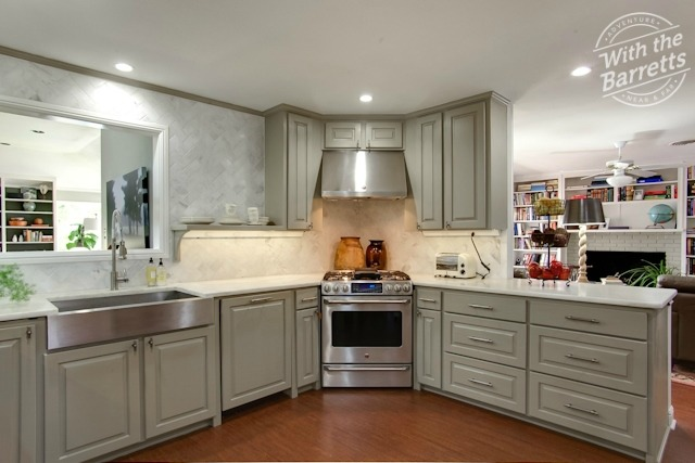 Range Kitchen View