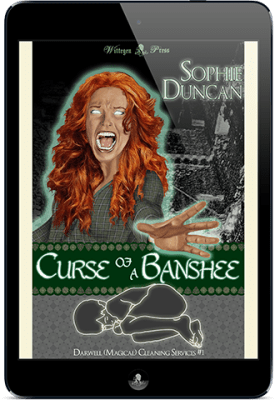 Curse of A Banshee (Darwell [Magical] Cleaning Services #1) (Contemporary Fantasy)