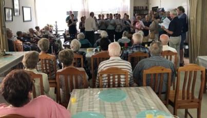 Lutherische Gemeinde Wittenberg - Gemeindebrief 03-2019 - Chorsingen am 23. Dezember in Huis Immergroen 02