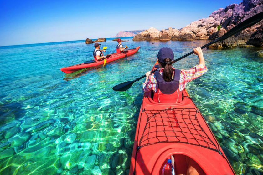 Kayaking on Vacation