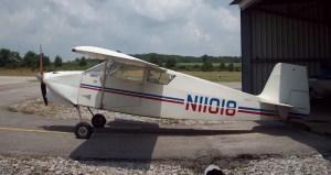 Wittman Tailwind Pilot Side