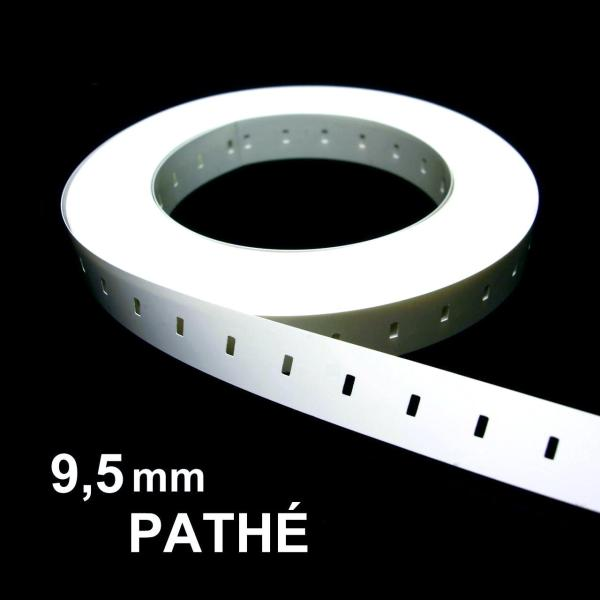9.5mm / Pathe Film Leader, White, Acetate, 400ft / 120m ...