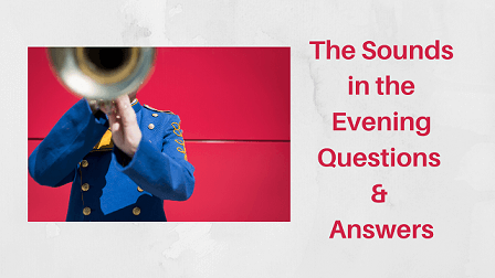 The Sounds in the Evening Questions & Answers