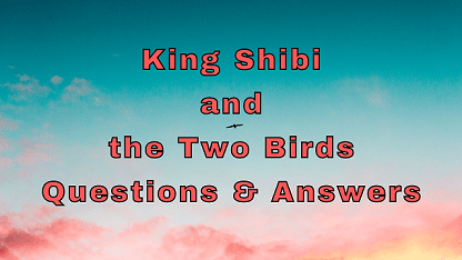 King Shibi and the Two Birds Questions & Answers