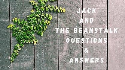 Jack and The Beanstalk Questions & Answers