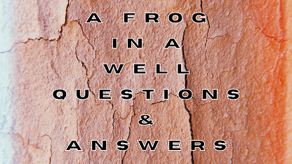 A Frog In A Well Questions & Answers