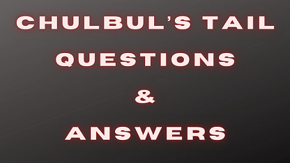 Chulbul's Tail Questions & Answers