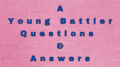 A Young Battler Questions & Answers