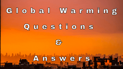 Global Warming Questions & Answers