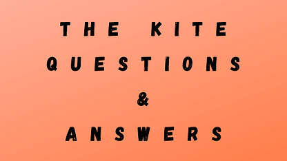 The Kite Questions & Answers