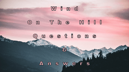 Wind On The Hill Questions & Answers