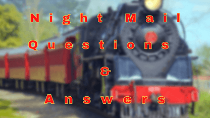 Night Mail Questions & Answers