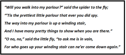 The Spider And The Fly Questions & Answers