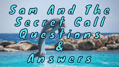Sam And The Secret Call Questions & Answers