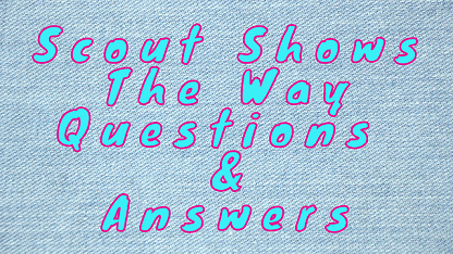 Scout Shows The Way Questions & Answers