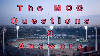 The MCC Questions & Answers