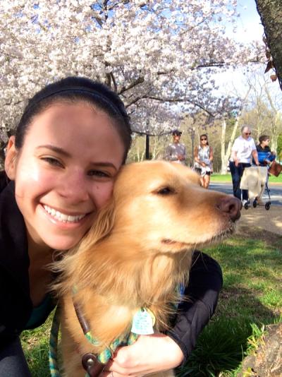 Stella Visits the Cherry Blossoms