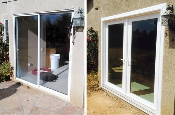 Vinyl French Doors by Bay View