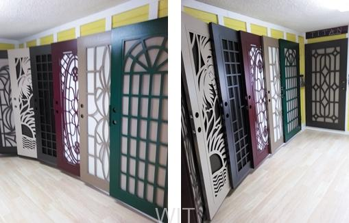 TITAN SECURITY DOORS BY UNIQUE HOME DESIGNS