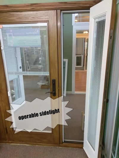 French Doors with sidelight