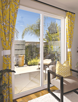 yucaipa sliding glass doors