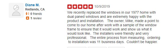 yelp review WIT Windows and Doors
