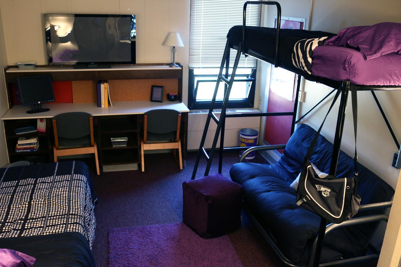 Tanner Hall Housing Western Illinois University