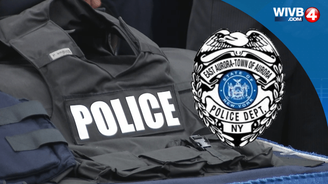 WEB TAG, East Aurora Police, Cuffs, Siren, Badge_197595