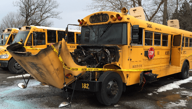 burnt out bus_255284