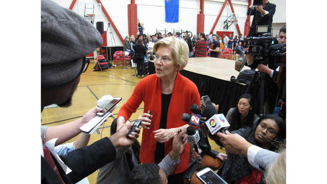 Election 2020 Elizabeth Warren Nevada_1555776311576