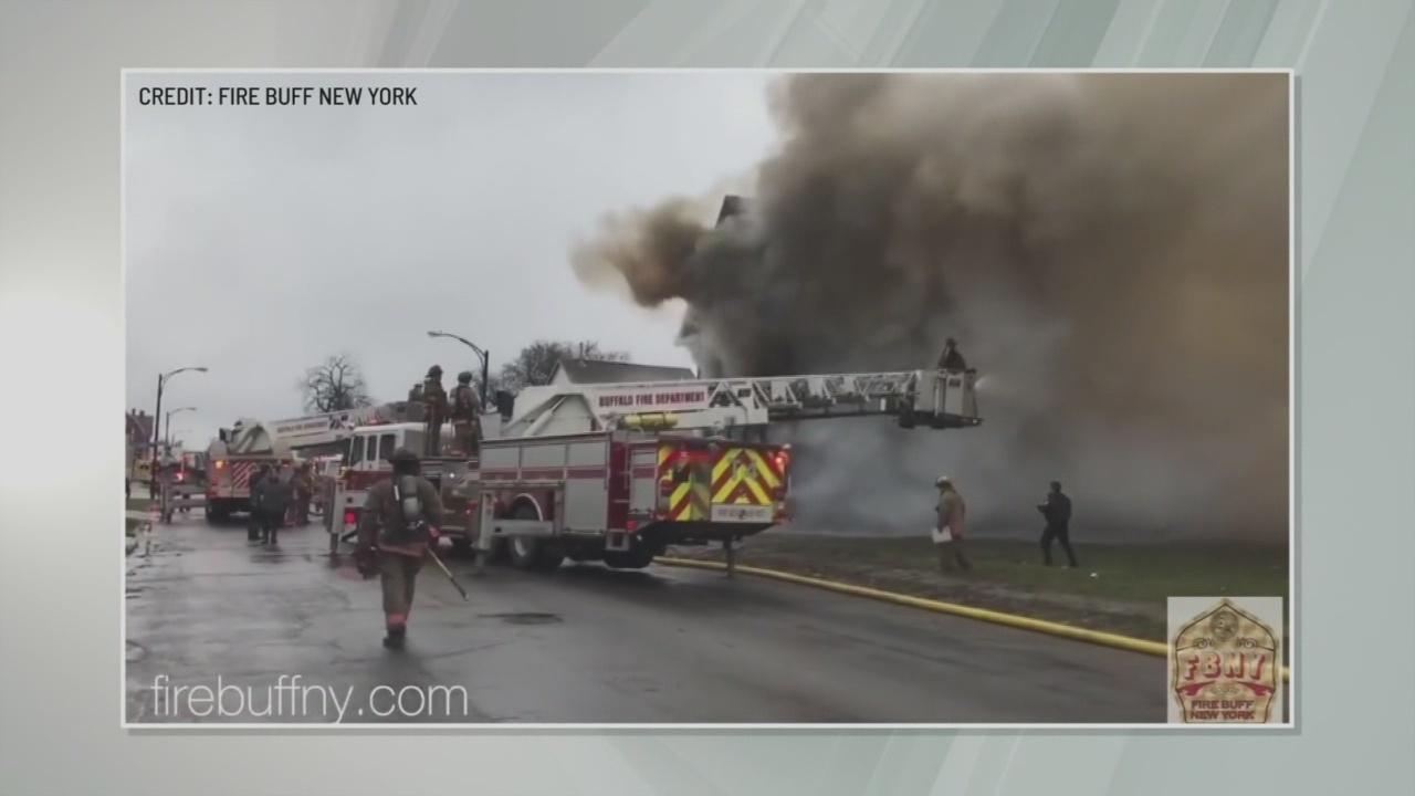 Update on fire in Buffalo