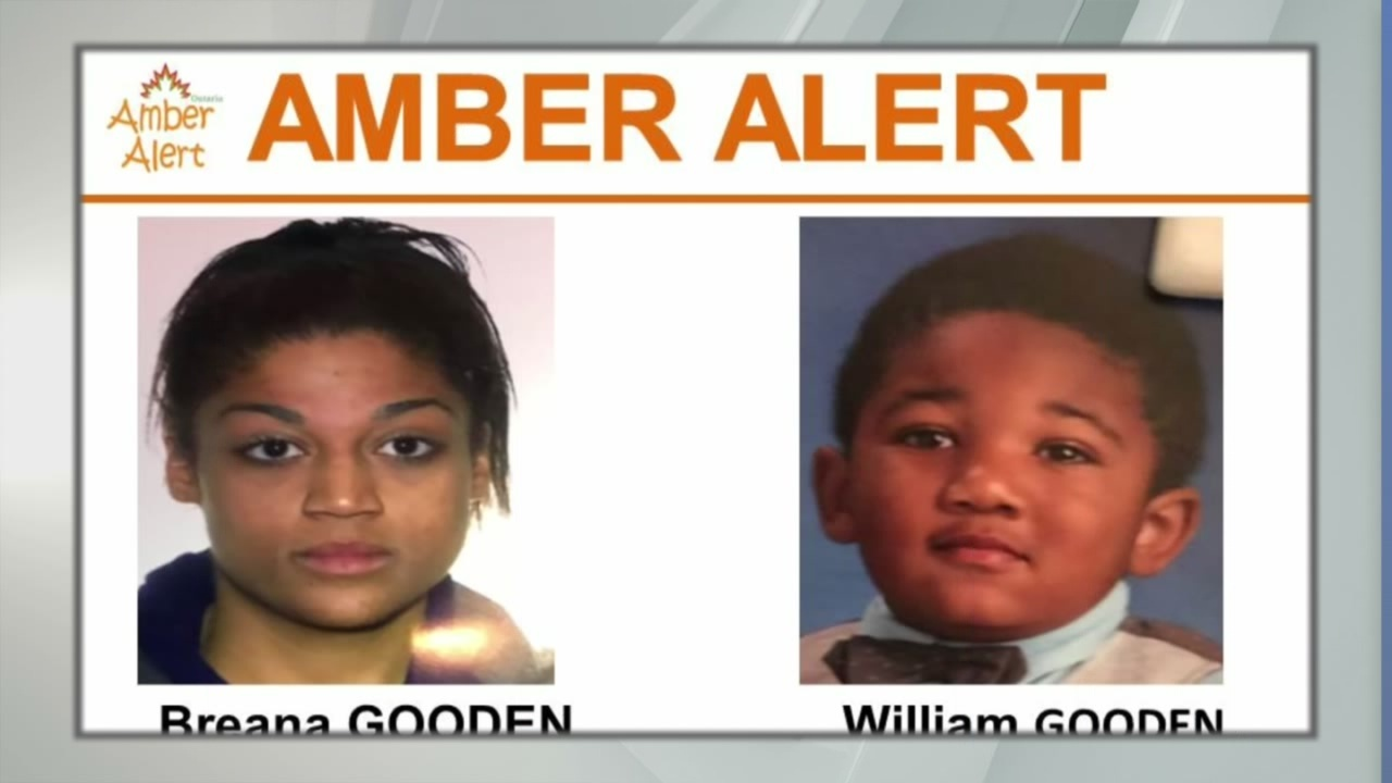 AMBER Alert issued for boy in Canada