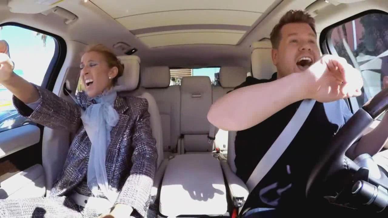 Celine Dion on Carpool Karaoke