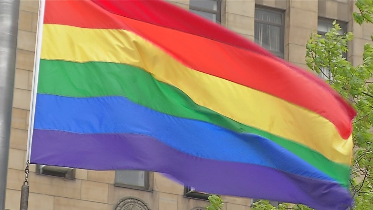 City of Buffalo kicks off Pride Week with flag raising in Niagara Square