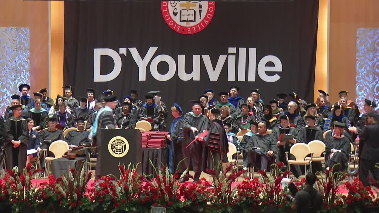D'Youville graduation ceremony features U.S. Air Force Captain Jessica Tait as speaker