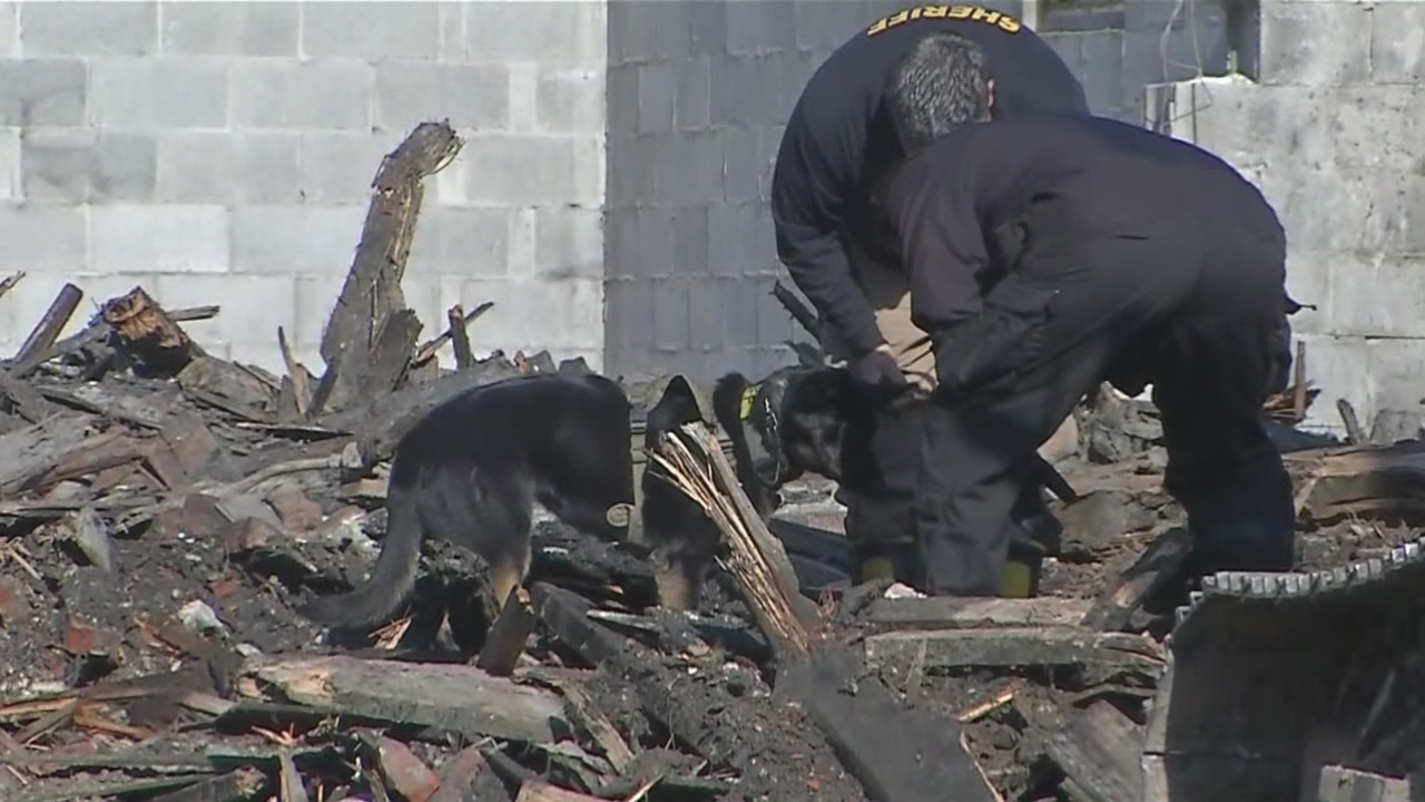 Human remains found at scene of fire