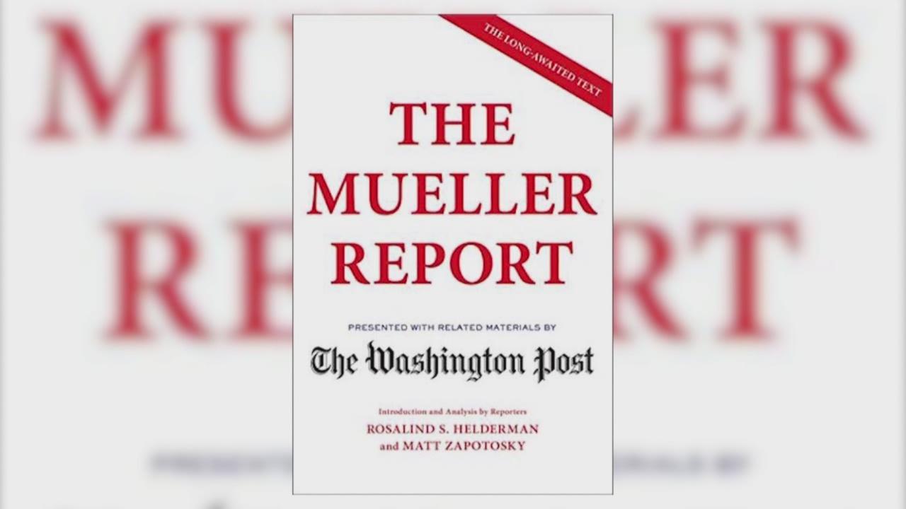 Redacted version of Mueller Report is #1
