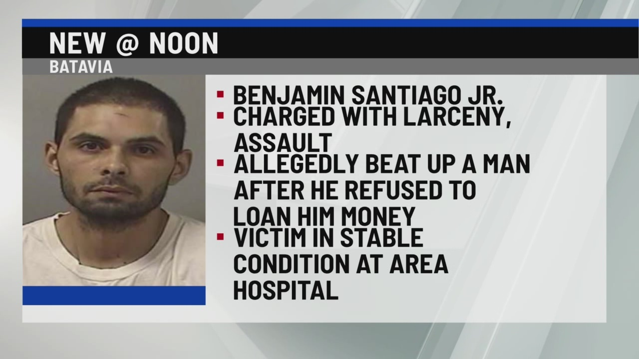 Benjamin Santiago arrested in Rochester